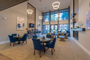 One Bedroom Apartments for Rent in Houston, TX - Clubhouse Lobby Seating Area